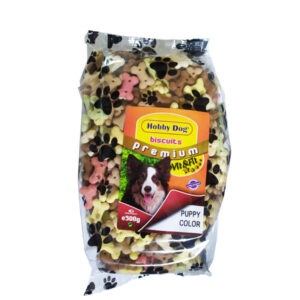Hobby Dog Biscuits Premium Puppy Color 500g
