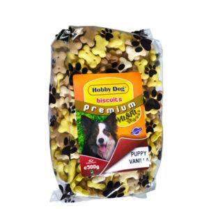 Hobby Dog Biscuits Premium Puppy Vanilla 500g