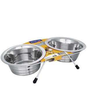 Vitakraft dvostruka zdjelica 2x450ml