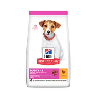 Hill's Science Plan Puppy Small&Mini s Piletinom 3kg